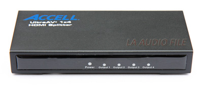 Accell Corporation - UltraAV® 1x4 HDMI Splitter