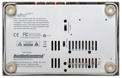 AudioControl Rialto 400 DAC/Amplifier