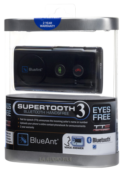 BlueAnt - Supertooth3 Blue-tooth Speakerphone
