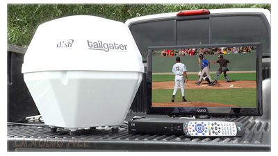 Dish Tailgater Portable HDTV System