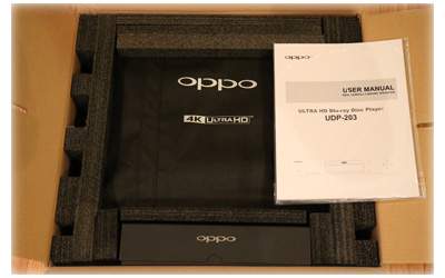 OPPO UDP-203 Packing
