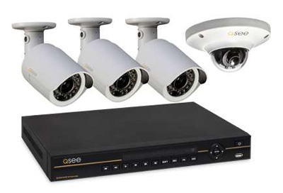 Q-See QC-804 4-Channel NVR and HD 1080p and 720 IP Camera System Review