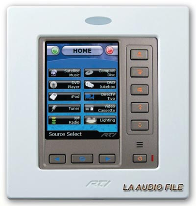 RTI RK3 In-Wall Remote Controller